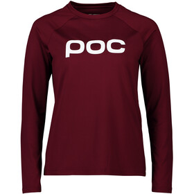 POC Reform Enduro LS Jersey Women, propylene red